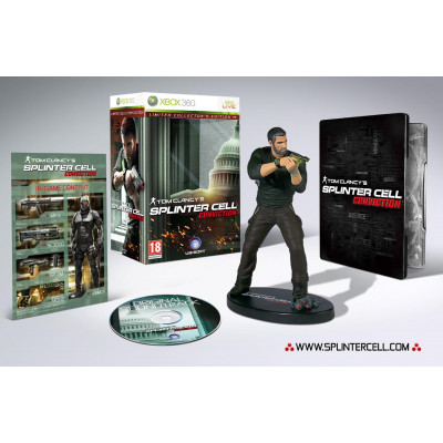 Tom Clancy's Splinter Cell: Conviction. Collector's Edition [Xbox 360, русские субтитры]