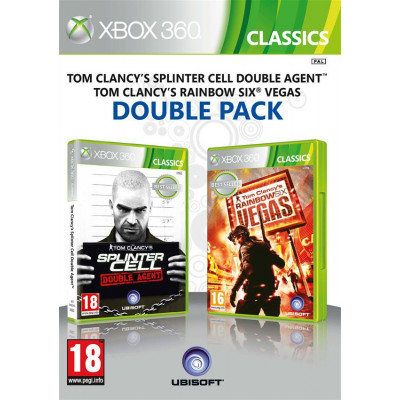 Tom Clancy's Splinter Cell Double Agent & Tom Clancy's Rainbow Six Vegas Double Pack [Xbox 360, английская версия]