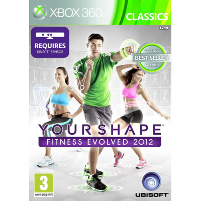 Your Shape: Fitness Evolved 2012 (только для MS Kinect) (Classics) [Xbox 360, русская версия]
