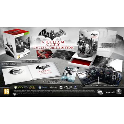 Batman: Аркхем Сити. Collector's Edition (с поддержкой 3D) [Xbox 360, русские субтитры]