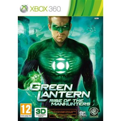 Green Lantern: Rise of the Manhunters (с поддержкой 3D) [Xbox 360, английская версия]