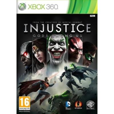 Injustice: Gods Among Us [Xbox 360, русские субтитры]