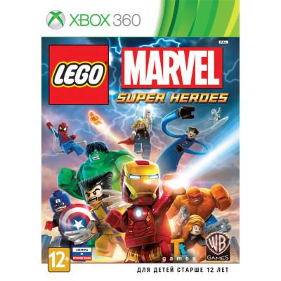 LEGO Marvel Super Heroes [Xbox 360, русские субтитры]