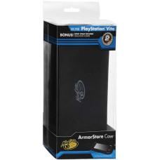 PS Vita 1000: Футляр Mad catz ArmorStore защитный с силиконовой вставкой черный