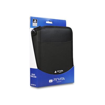PS Vita: Дорожный Футляр черный (Deluxe Travel Case - Black: SPC9002: A4T)