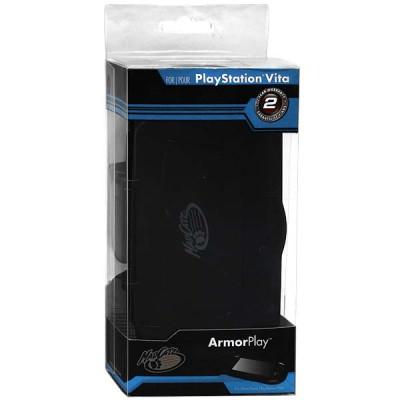 PS Vita: Футляр защитный со съемной задней крышкой черный (PS Vita ArmorPlay)