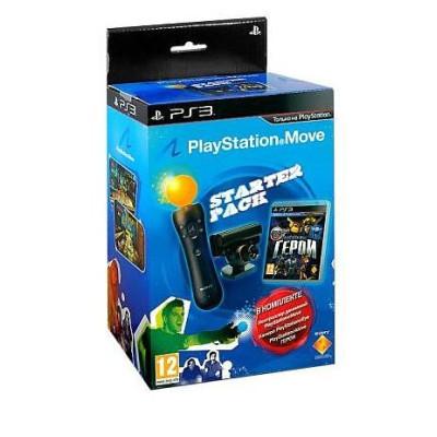 Комплект «Герои [PS3, русская версия]» + Камера PS Eye + Контроллер движений PS Move