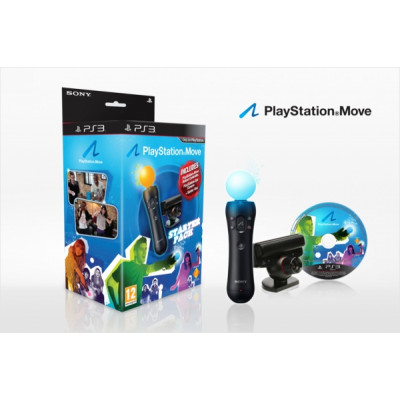 PS Move Starter Pack (Камера PS Eye + Контроллер движений PS Move + Демо-диск)