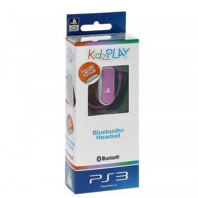 PS3: Гарнитура KidzPLAY Детская Bluetooth розовая (KP808P)