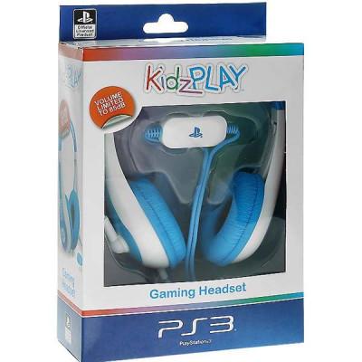 PS3: Гарнитура KidzPLAY Детская стерео голубая (KP803B)
