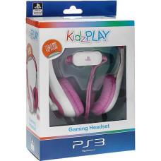 PS3: Гарнитура KidzPLAY Детская стерео розовая (KP803P)