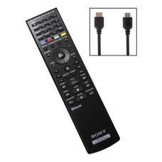 Комплект «Пульт дистанционного управления черный (CECHZR1R)» + «Кабель HDMI (CECH-002: SCEE)»