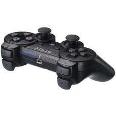 PS3: Контроллер игровой беспроводной черный (Dualshock Wireless Controller Black Blistered: CECH-ZC2EBL: SCEE)