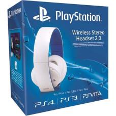 PS4: Гарнитура беспроводная белая для PS4 (с поддержкой PS3 и PS Vita) (Wireless Stereo O2 Headset White: CECHYA-0083: SCEE)