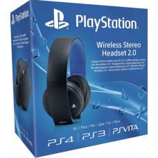 PS4: Гарнитура беспроводная черная для PS4 (с поддержкой PS3 и PS Vita) (Wireless Stereo O2 Headset Black: CECHYA-0083: SCEE)