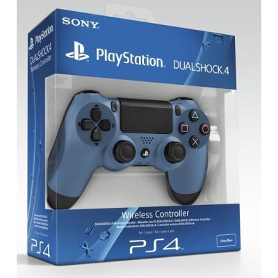 PS4: Контроллер игровой беспроводной серо-синий (Dualshock 4 Cont Grey Blue: CUH-ZCT1: SCEE)