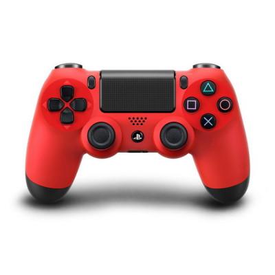 PS4: Контроллер игровой беспроводной красный (Dualshock 4 Cont Red CUH-ZCT1E: SCEE)