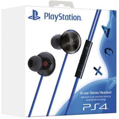 PS4: Гарнитура для PS4 (с поддержкой PS Vita) (Стереогарнитура с наушниками-вкладышами, SLEH-00305: SCEE)