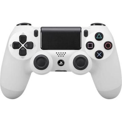 PS4: Контроллер игровой беспроводной белый (Dualshock 4 Cont Glacier White: CUH-ZCT2E: SCEE)