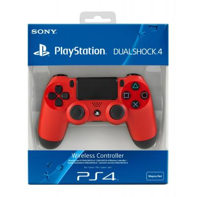 PS4: Контроллер игровой беспроводной красный (Dualshock 4 Cont Magma Red: CUH-ZCT1: SCEE)