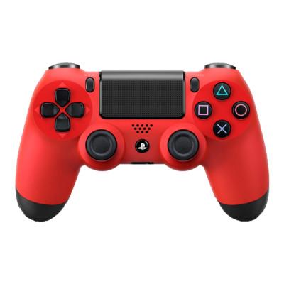 PS4: Контроллер игровой беспроводной красный (Dualshock 4 Cont Magma Red: CUH-ZCT2E: SCEE)