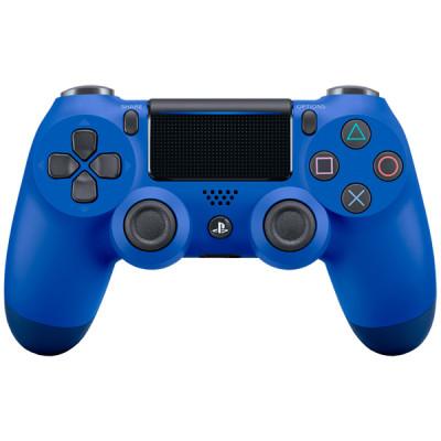 PS4: Контроллер игровой беспроводной синий (Dualshock 4 Cont Wave Blue: CUH-ZCT2E: SCEE)