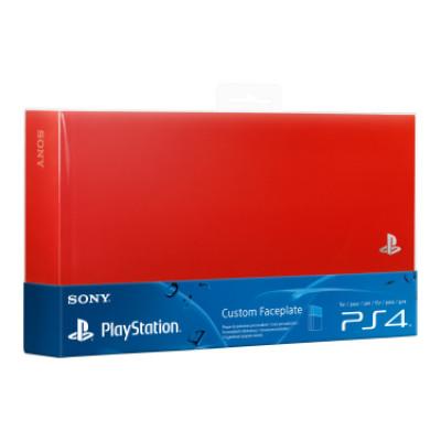 PS4: Крышка отсека для дополнительного жесткого диска красная (HDD SLEH-00327: SCEE)