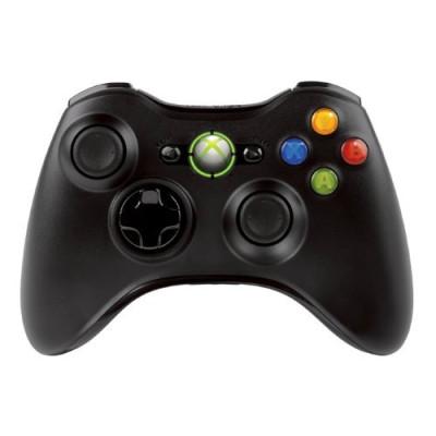 Контроллер игровой беспроводной черный [Xbox 360]