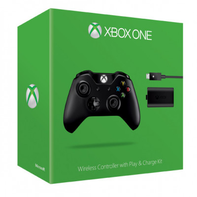 Беспроводной геймпад для Xbox One (с разъемом 3.5 мм и зарядным устройством)