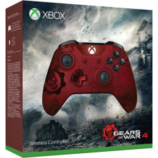 Беспроводной геймпад  для Xbox One  (ограниченное издание Gears of War 4 Crimson Omen + DLC)