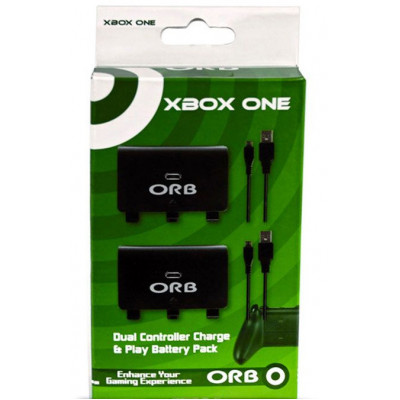 XOne: Зарядная станция ORB на 2 геймпада c 2мя аккумуляторами (020908)