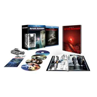 Blade Runner 30th Anniversary Collector's Edition [4-Disc Blu-ray / DVD +Book +UltraViolet Digital Copy Combo Pack]