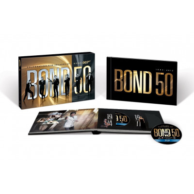 Bond 50: The Complete 22 Film Collection [ENG,Blu-ray]