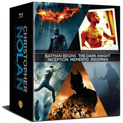Christopher Nolan Director's Collection [ENG,Blu-ray]