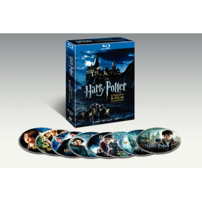 Harry Potter: Complete 8-Film Collection [Blu-ray] (2011)