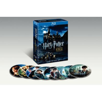 Фильм Warner Bros Harry Potter: Complete 8-Film Collection [Blu-ray] (2011)