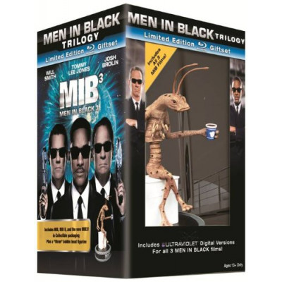 Men in Black Trilogy Limited Edition Giftset with Worm Figurine [ENG,Blu-ray + UltraViolet Digital Copies]