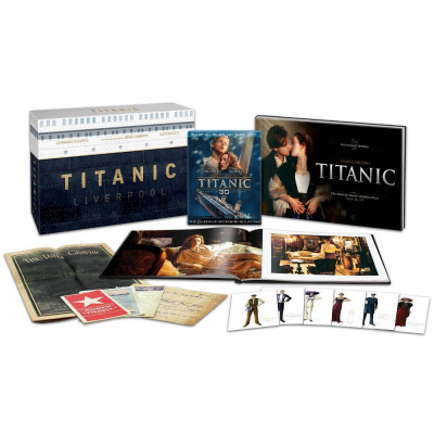 Titanic Collector's Edition [ENG,Blu-ray 3D/Blu-ray/Digital Copy]