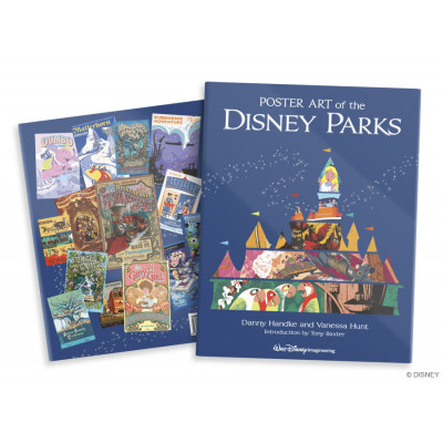 Poster Art of the Disney Parks [Hardcover]