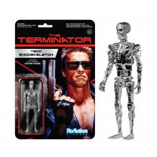 Фигурка Terminator T800 Endoskeleton Chrome Reaction (10 см)