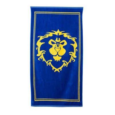 Полотенце Warcraft с символом Альянс