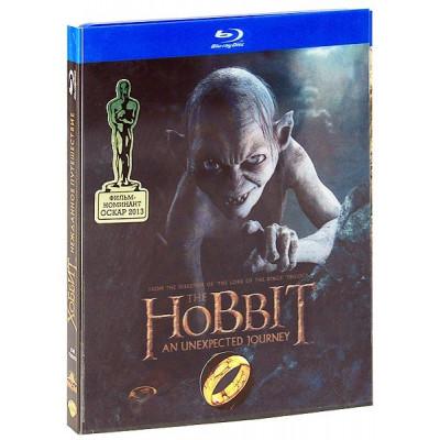Хоббит: Нежданное путешествие (+3D-открытка) [Blu-ray]