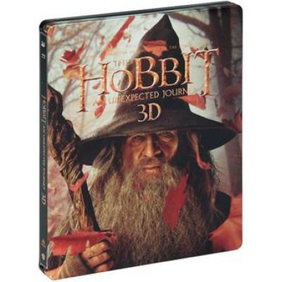 Хоббит: Нежданное путешествие (Жестяной бокс) [Blu-ray 3D + 2D версия]