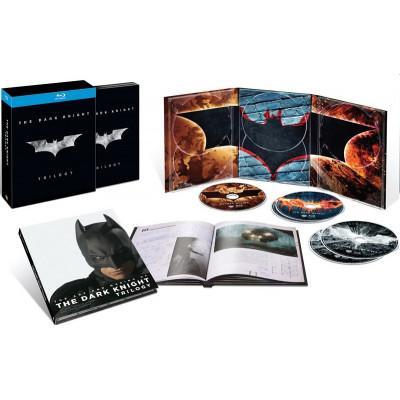Бэтмен: Темный рыцарь - Трилогия [Blu-ray]