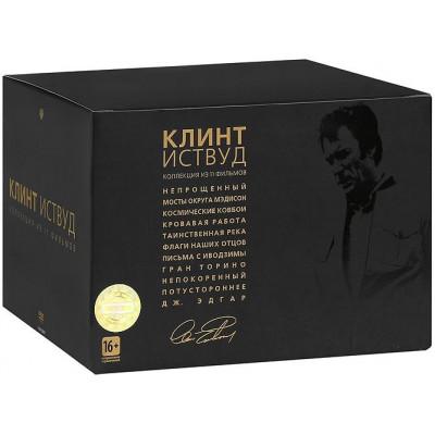 Клинт Иствуд. Коллекционное издание (11 дисков) [DVD]