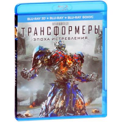 Трансформеры: Эпоха истребления [3D Blu-ray + 2D Blu-ray]