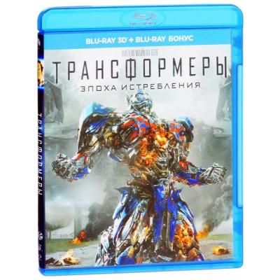 Трансформеры: Эпоха истребления [3D Blu-ray]