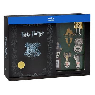 Гарри Поттер. Коллекционное издание (11 дисков + закладки + открытки + плакат) [Blu-ray]