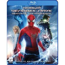 Новый Человек-паук: Высокое напряжение (открытка в подарок) [Blu-ray]